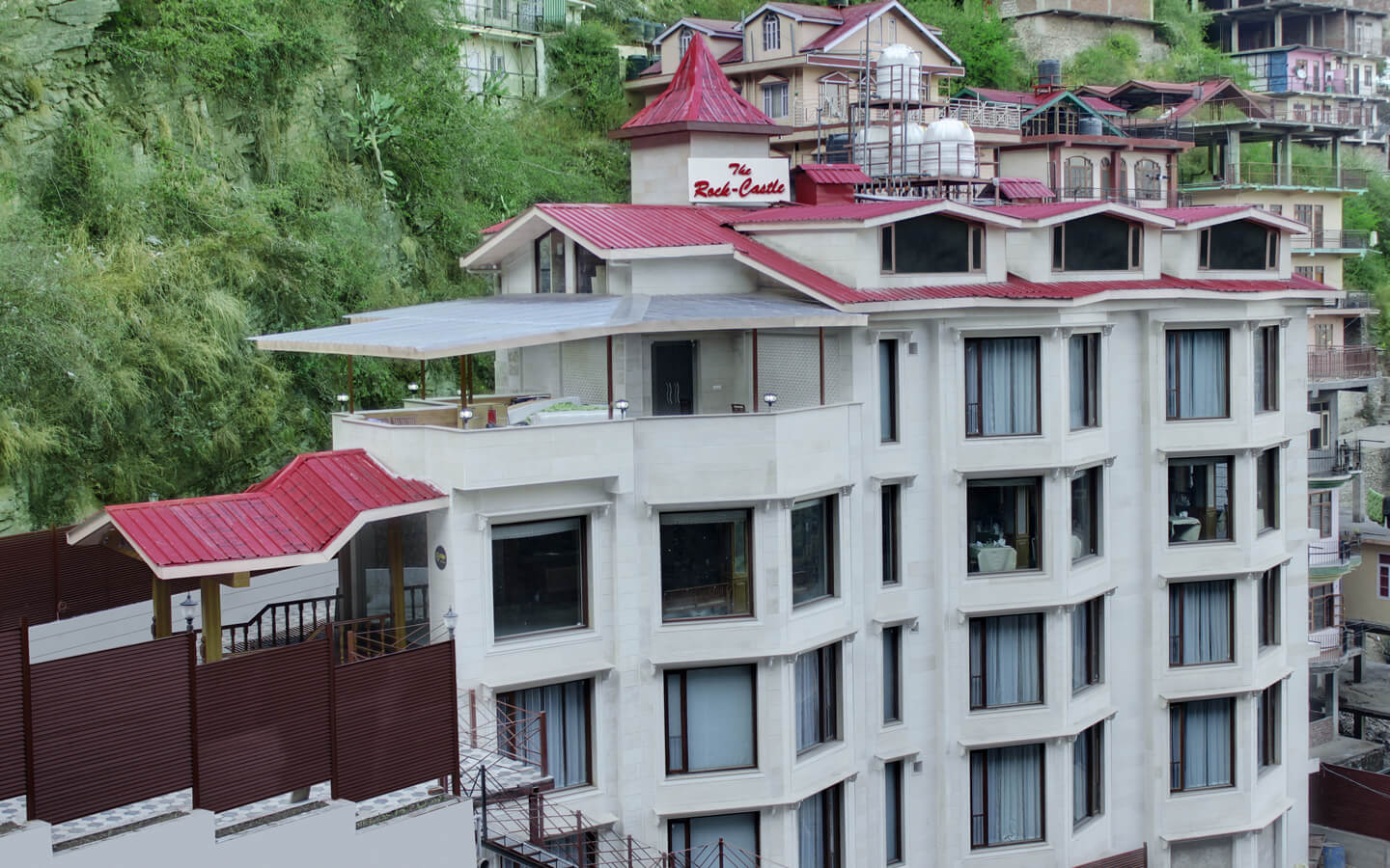 Hotel rock castle best hotel in shimla for Castle rock house